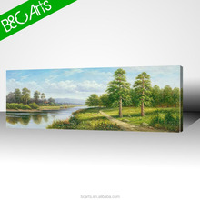 Tropical scenery wall art interior design picture landscape oil painting