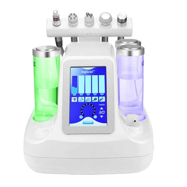Skin Rejuvenation Water Aqua Dermabrasion Peeling Machine 5 in 1 Facial Machine Wrinkle Removal Facial Massage Machine