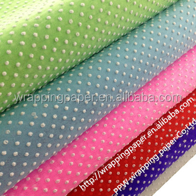 Spot Dot Foaming Gift Wrapping Paper Factory Custom Gift Wrap ...