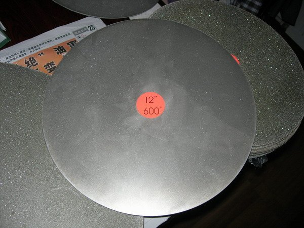 Magnetic Rubber Diamond Disk