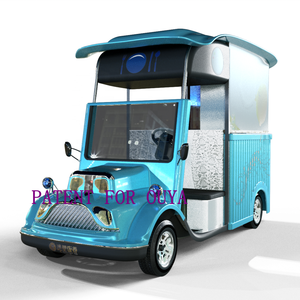 multifunction customized 4 wheels electric fast food truck mobile street snack food trailer