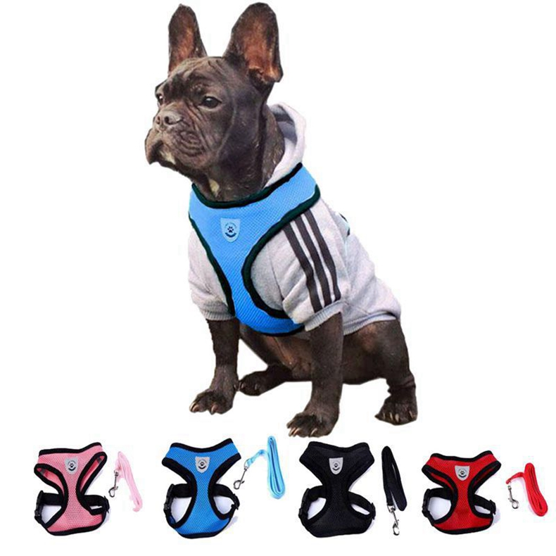201-Dogs-Harness-Leash-Lead-Collar-Nylon-Mesh-Vest-Porducts-For-Dog-Pet-Shop-Accessories-Supplies