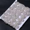 XULIN New Style Pearl Iron On Hot Sale Sparkling Rhinestone Applique for Women Clothing