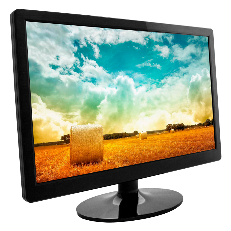 Shenzhen factory 21.5 inch tft lcd computer monitor with vga dvi usb