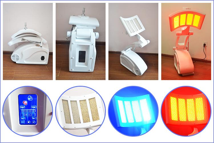 Nuovo Diffondere Apparecchiatura di Bellezza per la Pelle PDT Terapia Portable LED Macchina