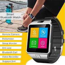Sport Tracking DZ09 Bluetooth Smart Watch Phone Mate GSM SIM For Android IOS