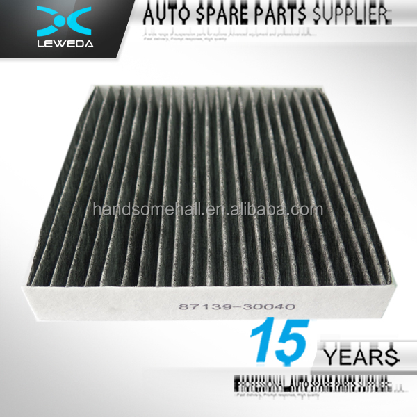 Hot Selling Carbon Cabin Air Filter For Toyota 87139 30040
