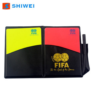 SHIWEI-Red yellow card High Performance football referee CARDS