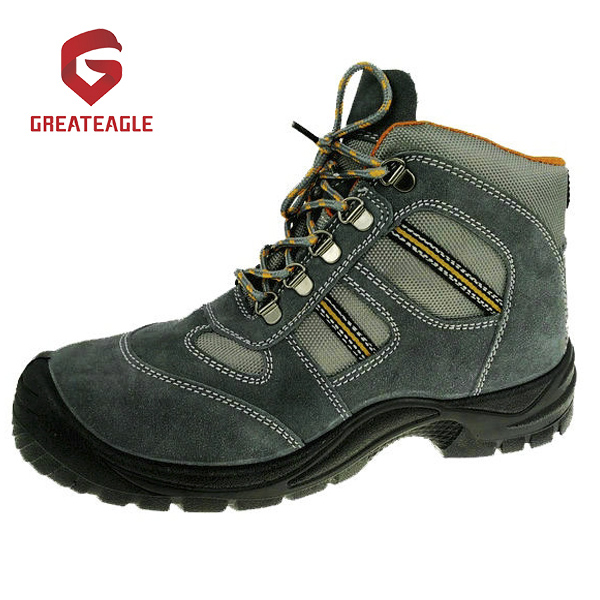 Steel Toe Cap and Midsole Safety Boots Rubber Soles for Wholesale -SS181
