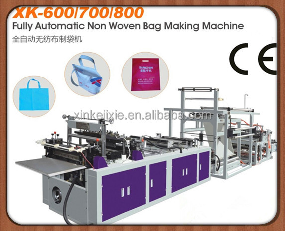 non woven flat bag making machine for best price