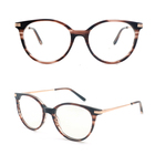 BOA1006 brown optical cat eye prescription glasses