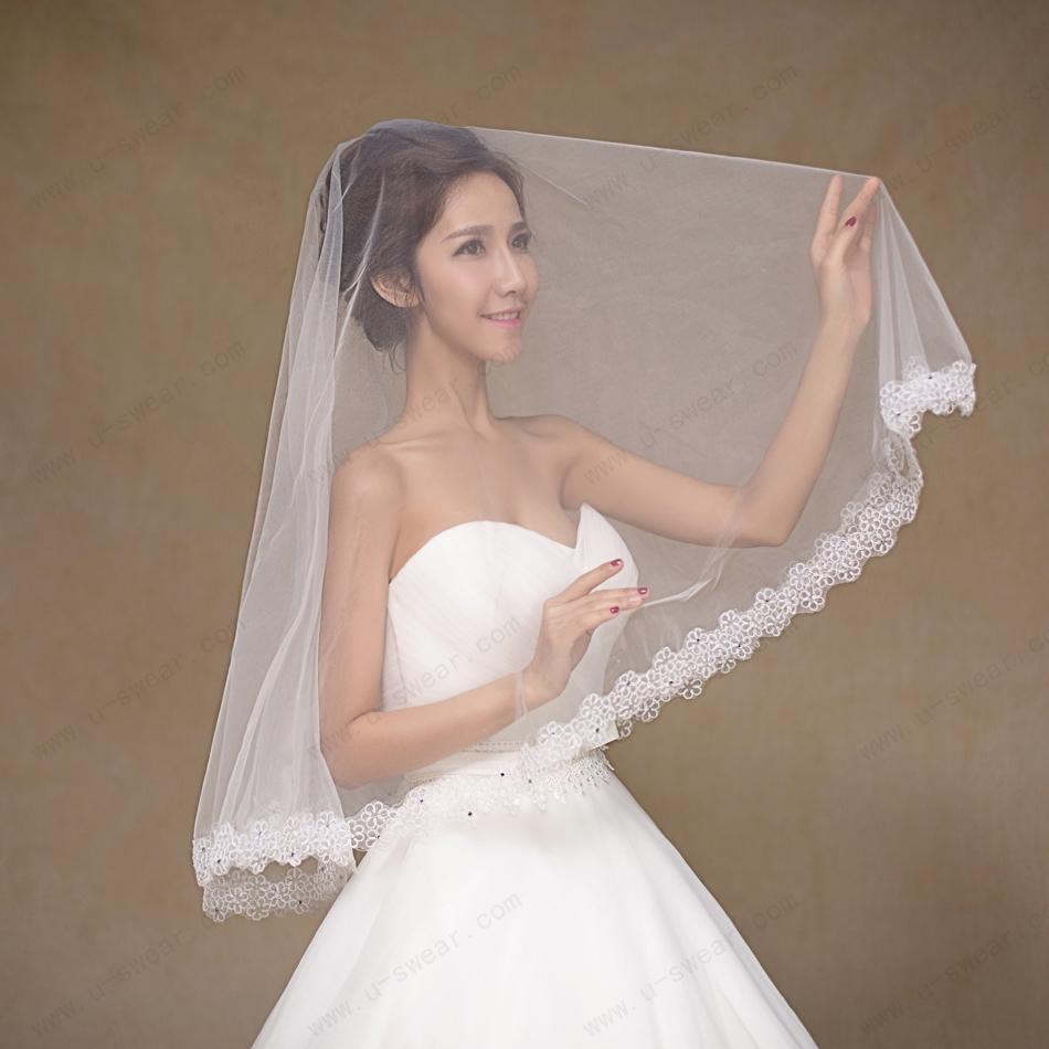 Online Get Cheap Rhinestone Wedding Veil -Aliexpress.com ...