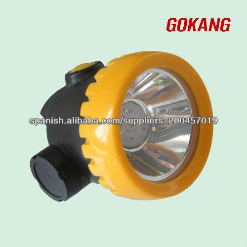 Sin cable led l mpara de casco minero lampara para casco for Lamparas sin cables
