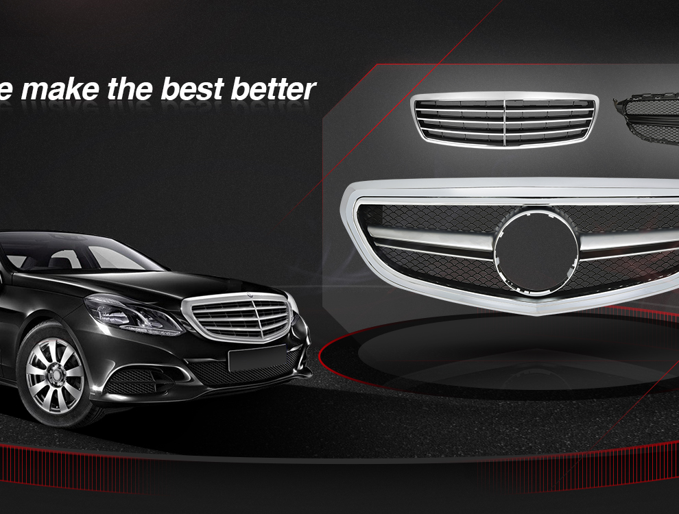 s bentley grill weave benz product mercedes tiarra dual grille chrome mesh