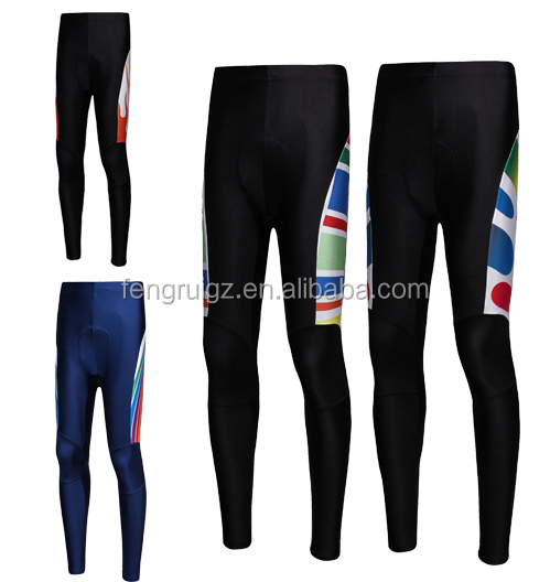 Compression gym clothes male long pants Plus Size,Anti-UV Feature and Cycling Wear Sportswear Type specialized cycling pants