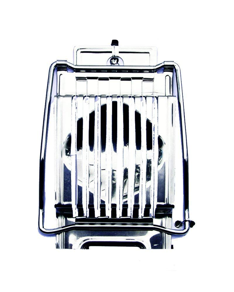 Update International ES-SS Stainless Steel Egg Slicer, Frame: Iron, Base: AISI 430 2B Stainless Steel, Cu