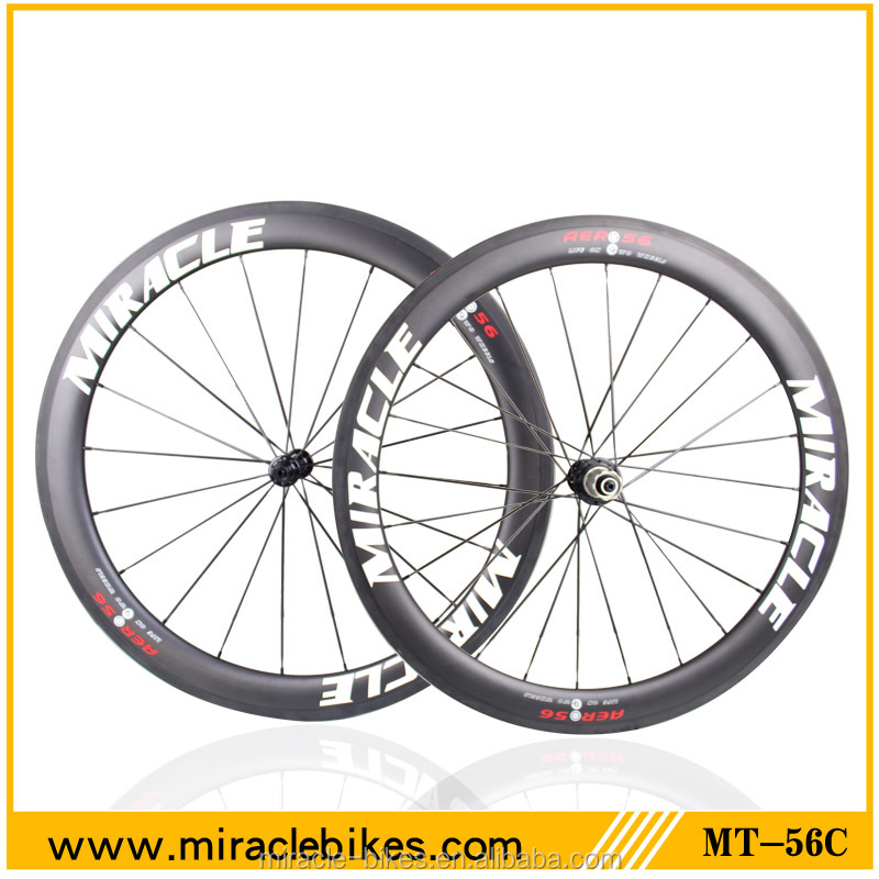OEM Clincher carbon bicycle wheels,27mm width carbon road wheelset,bike wheel stickers carbon