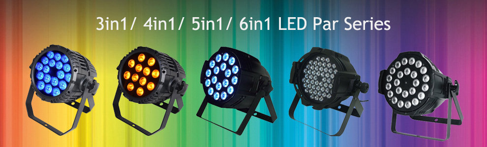 Leeman Group 8X10W RGBW 4in1 LED Spider Beam Moving Head Light