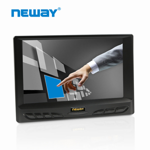 7 inch Screen LCD Monitor With SKS Cable VGA Video Audio Input
