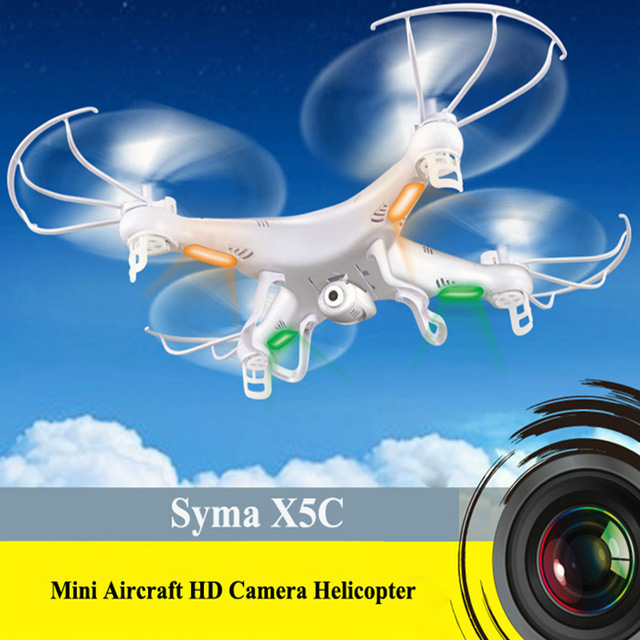 Syma X5C RC Toy Air Drone UAV Unmanned Aerial Vehicle Quadcopter Helicopter 4-Axis Gyro HD Camera Remote Control