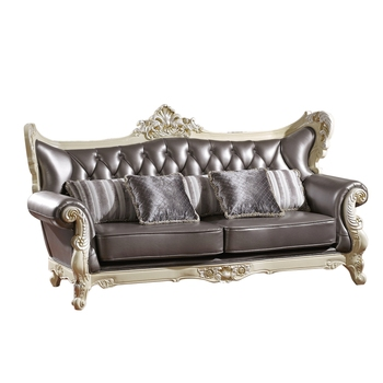Royal Leather Solid Wood Sofa Set Living Room Furniture - Buy Sofa ...