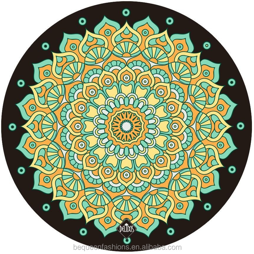 tapestry yoga hippie mandala itm beach mat round indian picnic towel blanket throw