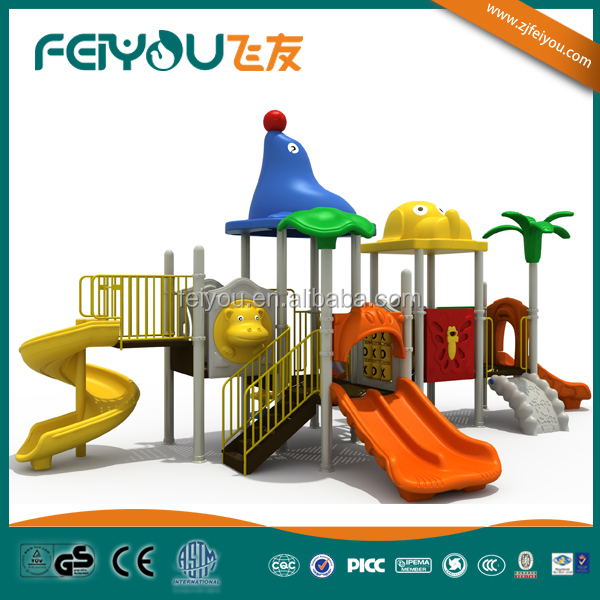 China Feiyou plastic indor soft industrial playground equipment