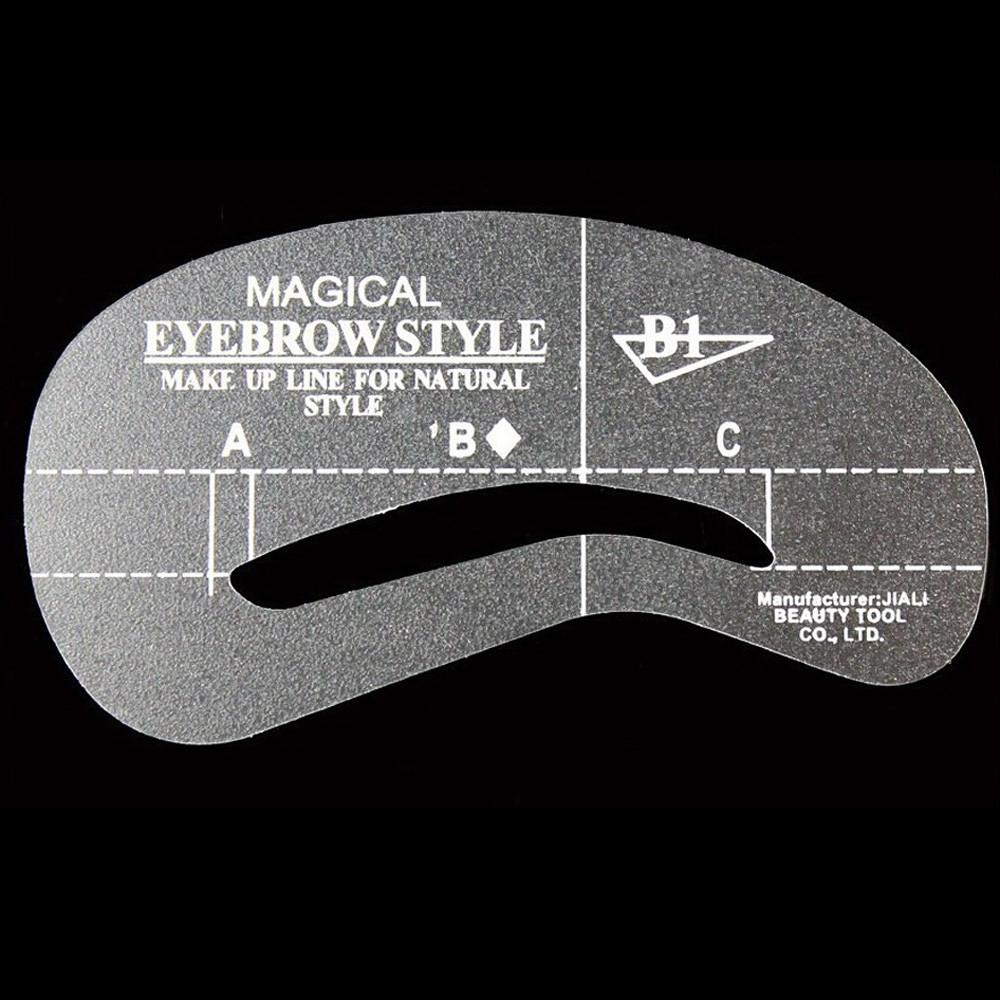 2017 new 24pcs Eyebrow shaping eyebrow card artifact word mink ... 2cf378177b43