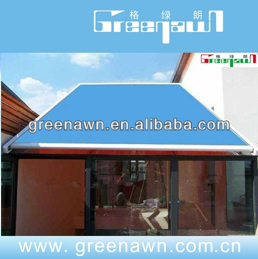 High Quality Glass House Roof Vertical Conservatory Awning Fabric