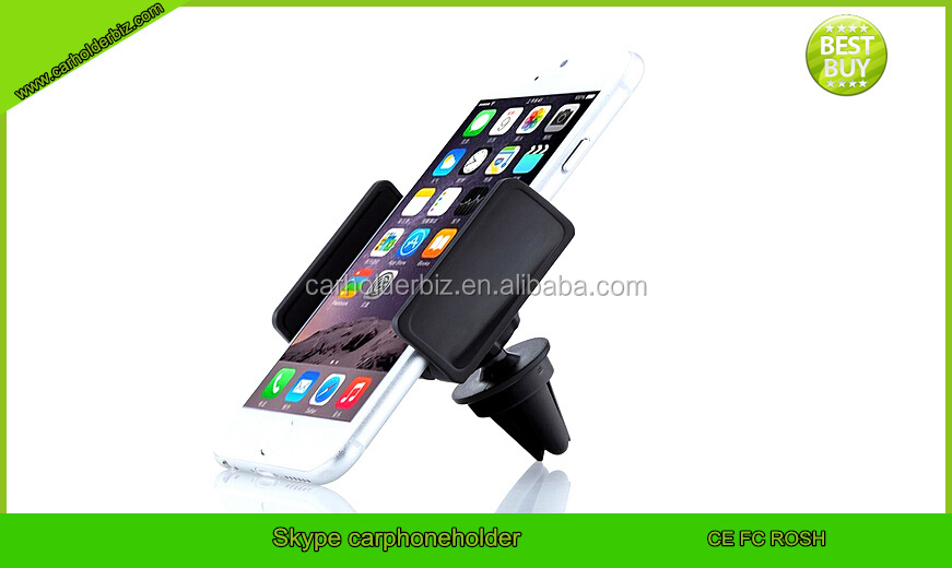 2015 AIR Vent Mount, 6.3'' Cell Phone, 360 Degree Rotation Views Car Mount Air Vent Cell Phone Holder for Iphone 6 Plus 6 5s 5c