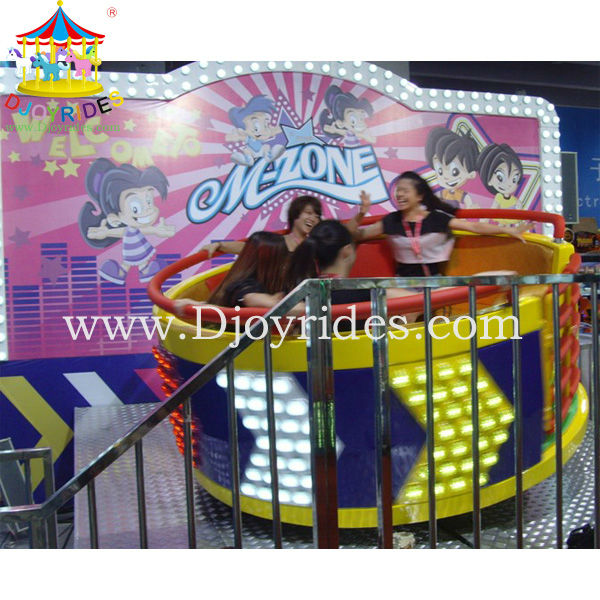 Kids entertainment equipment amusement disco mini tagada