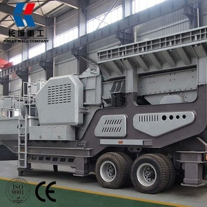 Automotive Vehicles Heavy Trucks Mobile Crusher