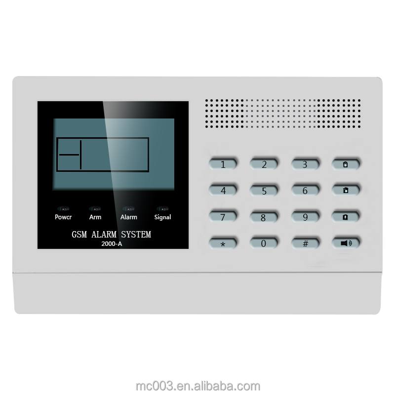 mc home use gsm fire alarm systems