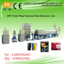 epe Material and Foam Type sharp edge protector extrusion line