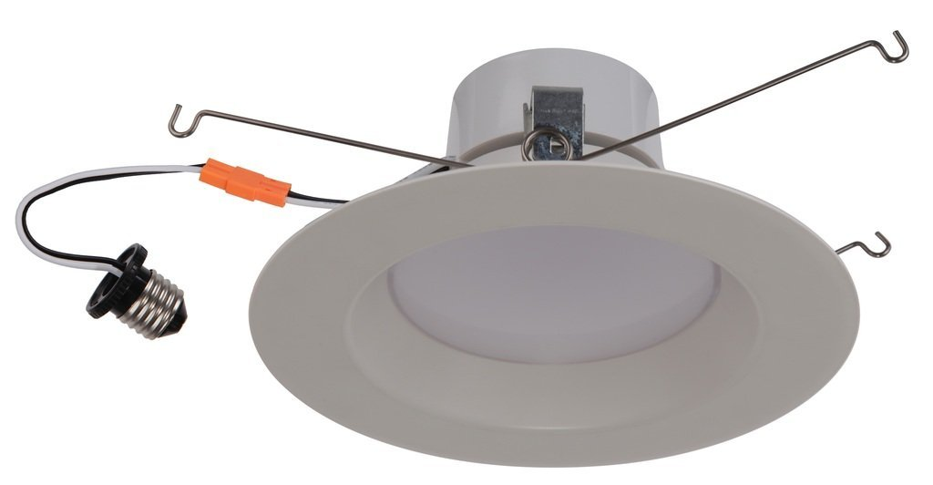 "Goodlite G-83450 5-6 "" Inch Round Retrofit LED Recessed Lighting Fixture, 5000K SuperWhite, Fully Dimmable Downlight, Energy Star, UL Listed, 18W (120W Replacement), CRI 90 1250Lm"