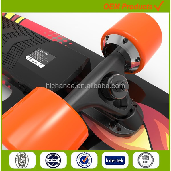 High quality wireless motorized skateboard for sale very light and fast