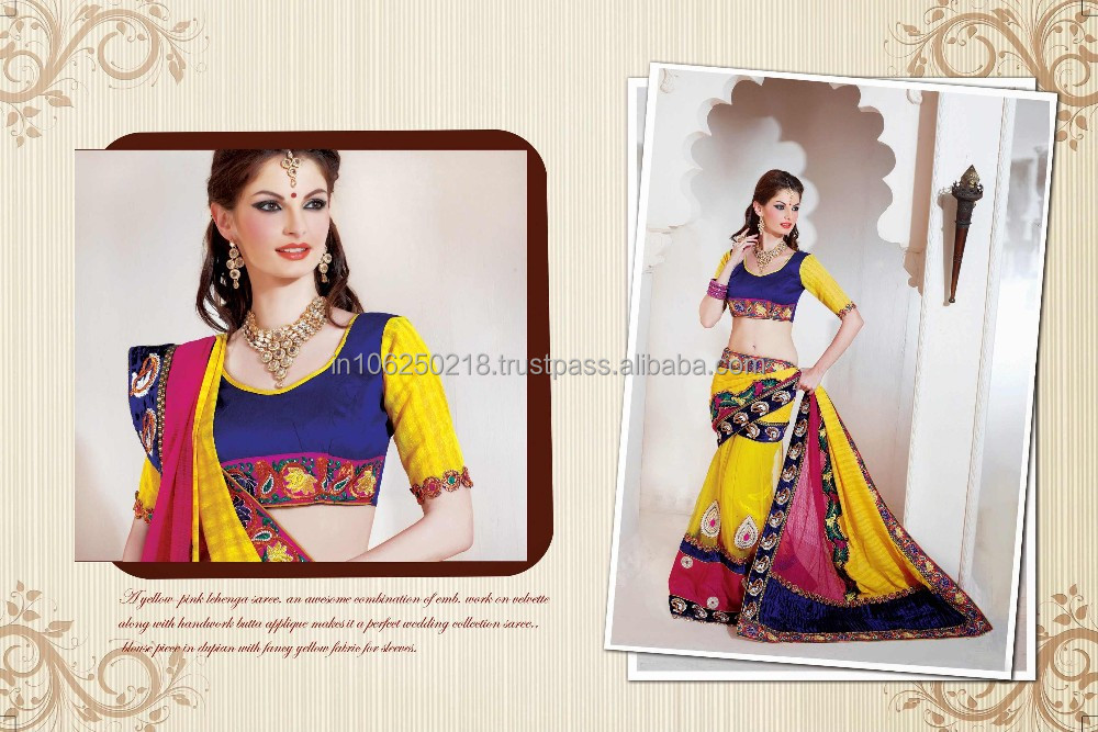 Indian sari cheap sari wedding sari indian sarees wholesale zari work ...R4563