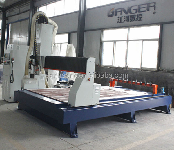 top quality advanced CNC wood machining center SH-1530ATC for small family firm