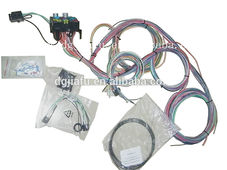 universal 12 circuit fuse box hot rod wire harness kit automotive universal 12 circuit fuse box hot rod wire harness kit automotive wire harness12 circuit fuse