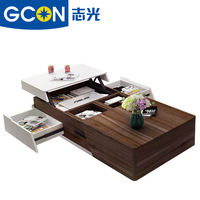 Multi-function living room furniture wooden coffee table