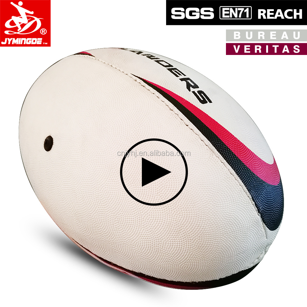 Jymingde Foam Mini Leather Rugby Ball Whole Customized
