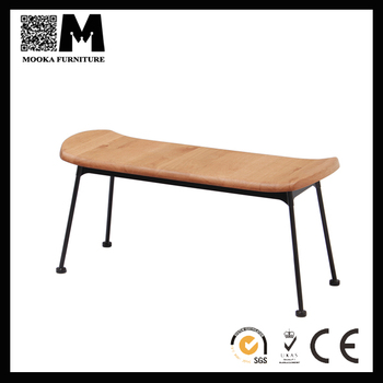 Brilliant Mordern Commercial Furniture Wooden Seat Bench For Iron Frame Buy Modern Commercial Seating Benches Cast Iron Wood Bench Indoor Commercial Benches Machost Co Dining Chair Design Ideas Machostcouk
