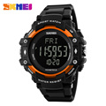 New Life Men 3D Pedometer Heart Rate Monitor Calories Counter Fitness Tracker Digital Display Watch Outdoor