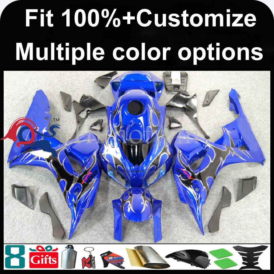 INJECTION MOLDING panels 2006 2007 CBR 1000RR Fairings For HONDA CBR-1000RR blue Fairings 2006 2007 CBR 1000RR 1000 RR CBR1000RR