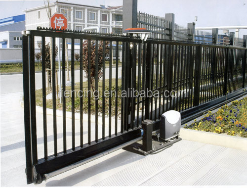Security iron sliding gate designs for homes buy main - Sliding main gate design for home ...