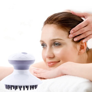 Portable Electric Battery Vibration Kneading Scalp Head Massager Widely Used For Head