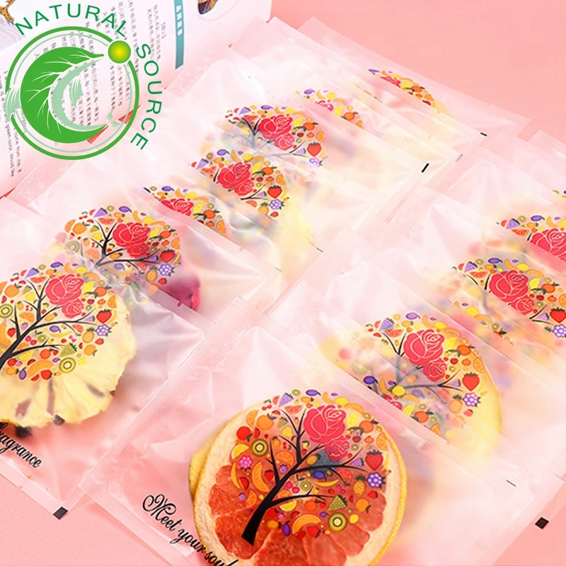 Orange Mixed Dried Fruit Slices Individual Package Fruit <strong>Tea</strong> In Box