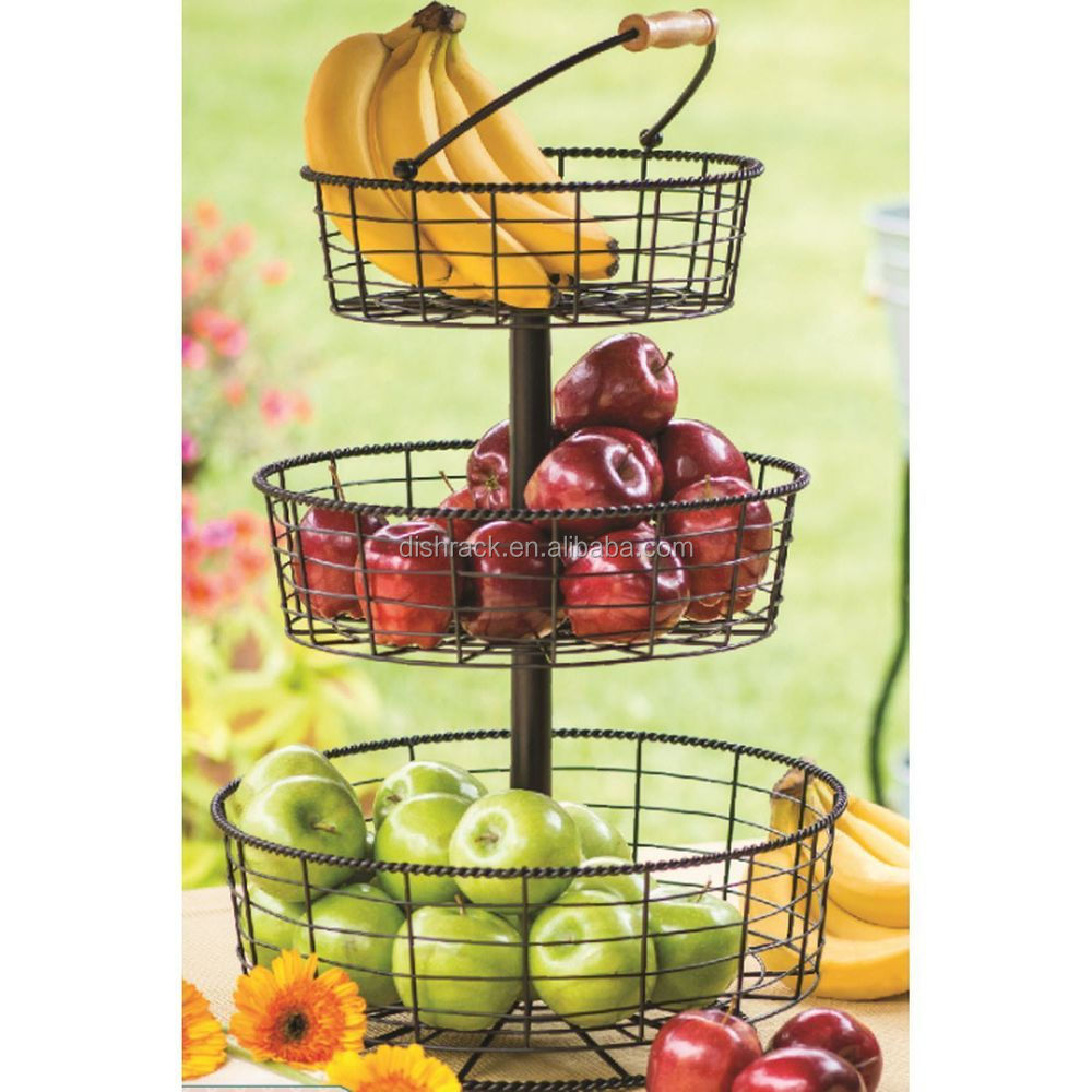 how to make a 3 tier fruit wedding cake kitchen accessories 3 tier wire fruit basket buy fruit 15778