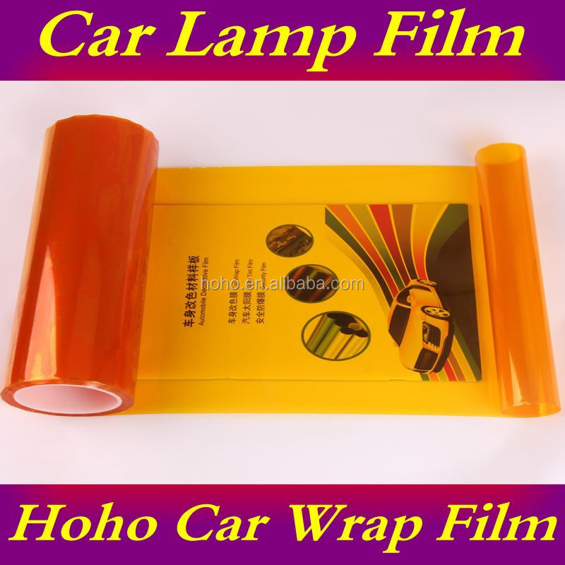 Transparent Colored Vinyl Sheets Used For Car Head Light Color Tint ...