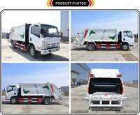 International Japan Brand 4x2 8cbm Garbage Compression Truck ...